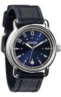 Nixon The Axe Watch in Blue Sunray - Lyst