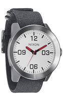 Nixon The Corporal Watch in White - Lyst
