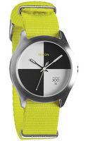 Nixon The Quad Watch in Neon Yellow - Lyst