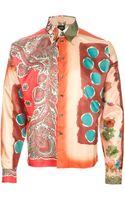 Jean Paul Gaultier Multi Print Boxy Shirt - Lyst