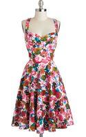 Louche Garden Home Tour Dress - Lyst
