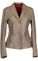Used Leather Outerwear - Lyst