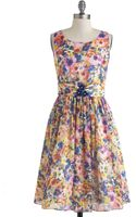 ModCloth Summer Annuals Dress - Lyst