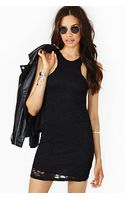 Nasty Gal Infinite Night Lace Dress - Lyst