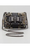 Christian Louboutin Sweet Charity Studded Crossbody Bag - Lyst