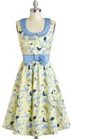 ModCloth All The Worlds A Birdcage Dress - Lyst