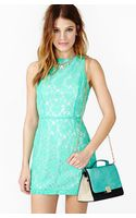 Nasty Gal Ivy Lace Dress - Lyst