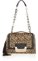 Diane Von Furstenberg Harper Calf Hair Shoulder Bag - Lyst