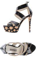 Aldo Brue' Platform Sandals - Lyst