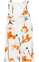 Diane von Furstenberg Cheryl Printed Silk Top - Lyst