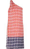Diane Von Furstenberg Liluye Printed Crinkled Silk chiffon Dress - Lyst