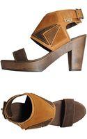 Dolfie Platform Sandals - Lyst