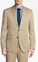Boss Black Jamessharp Cotton Suit - Lyst