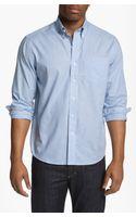 Cutter & Buck Lasell Regular Fit Sport Shirt Big Tall  - Lyst