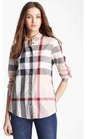 Burberry Brit Check Woven Shirt - Lyst