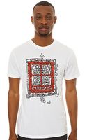 Insight The Distortion Tee in Dusted - Lyst
