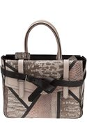Reed Krakoff Python Boxer Tote - Lyst