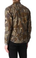Paul Smith Camouflage Jacket - Lyst