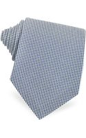 Forzieri Two Tone Textured Seven Fold Silk Tie - Lyst