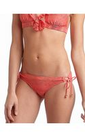 Jessica Simpson Coachella Crochet Hipster Sidetie Swim Bottoms - Lyst