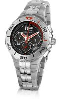 Zoppini Stainless Steel Bracelet Chrono Watch - Lyst