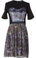 Markus Lupfer Short Dresses - Lyst