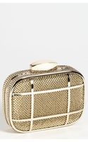Whiting & Davis Caged Minaudiere - Lyst