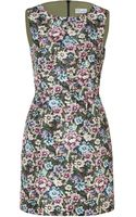 RED Valentino Floral Print Sheath Dress - Lyst