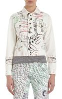 Current/Elliott The Snap Jacket Roadrunner Pink - Lyst