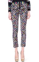 Erdem Melinda Checkprint Trousers - Lyst