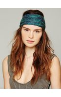 Free People Printed Widebands - Lyst