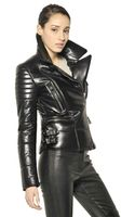Belstaff Quilted Nappa Leather Biker Jacket - Lyst