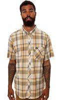 RVCA The Nettle Ss Button down Shirt - Lyst