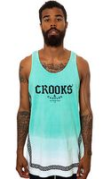 Crooks And Castles The Greco Fade Tank Top - Lyst