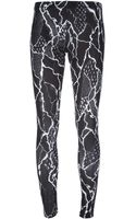 McQ by Alexander McQueen Abstract Print Leggings - Lyst