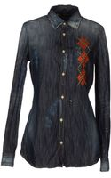 DSquared2 Denim Shirts - Lyst