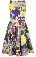 Max Mara Studio Floral Dress - Lyst
