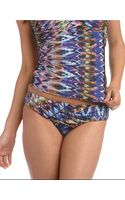 Becca Swim Ruffled Crochet Hipster Swim Bottoms - Lyst