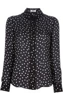 Moschino Cheap & Chic Polka Dot Blouse - Lyst