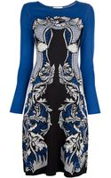 Temperley London Floral Fine Knit Dress - Lyst