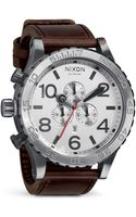 Nixon Mens The 5130 Chronograph Watch 5125mm - Lyst