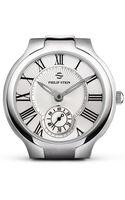 Philip Stein Large Round Stainless Steel Watch Head 40mm - Lyst