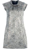 Burberry Prorsum Vintage Embroidered Dress - Lyst