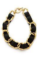 CC Skye Double Wrap Woven Bracelet - Lyst
