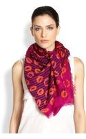 Marc By Marc Jacobs Stripey Lips Scarf - Lyst