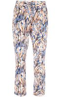Stella McCartney Printed Trouser - Lyst