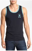 Psycho Bunny Pima Cotton Tank Top - Lyst