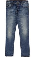 Just Cavalli Distressed Jeans - Lyst