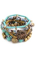 Vanessa Mooney Misty Mountain Bracelet Set - Lyst