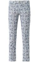 Etoile Isabel Marant Irwin Printed Corduroy Trousers - Lyst